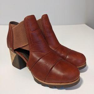 Sorel Addington Cut Out Casual Boot Leather 6